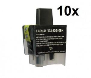10 x Patronen(Schwarz/Black) ersetzen Brother LC-900