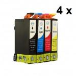 4 Druckerpatronen für Epson T0711-T0714 Preis 13,99 €