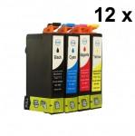 12 Druckerpatronen für Epson Stylus T0711-T0714 (C,M,Y,BK) Preis 15,99 €