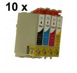 4 Druckerpatronen für Epson Stylus(C,M,Y,BK)T0441-T0444 Preis 11,99€