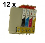 10 Druckerpatronen für Epson Stylus(C,M,Y,BK) T0441-T0444 Preis 11,99€