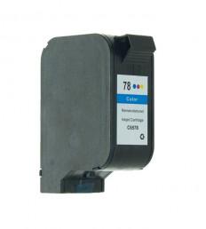 1 Druckerpatrone wiederbefüllt für HP78 Color