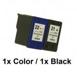 1Druckerpatrone wiederbefüllt für HP 22 Color /15ml Tinte