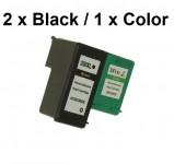2 Druckerpatronen wiederbefüllt für HP 350XLSchwarz/HP 351XL Color
