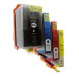 4 Druckerpatronen ersetzt HP920 XL mit Chip/ Black,Magenta,Yellow,Cyan