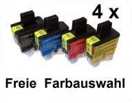 4 kompatibel Patronen für Brother LC-900 Preis 9,99€