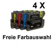 4 komp. Patronen für Brother LC-970/ 1000 Preis 9,50 € inkl. MwSt.