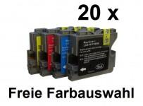 20 Patronen für Brother LC-970 / 1000 Preis 19,99 € inkl. MwSt.