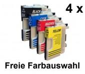 4 Patronen für Brother LC-980/1100 Preis 9,99 €