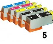 5 Druckerpatronen für Epson Expression Premium T2621-T2634 Preis 12,49€