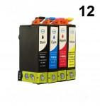 12  Druckerpatronen für Epson Stylus T1811-T1814 Preis 35,99 €