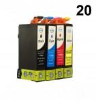20 Druckerpatronen für Epson Stylus T1811-T1814 Preis 54,00 €