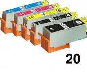 20 Druckerpatronen für Epson Stylus T2621-T2634 Preis 58,99 €