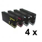 4  Druckerpatronen für Epson Stylus T7011-T7014 Preis 15,99€