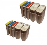 10 Druckerpatronen ersetzt HP940 XL mit Chip/ Black,Magenta,Yellow,Cyan