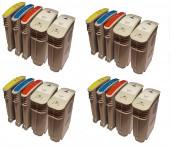 20 Druckerpatronen ersetzt HP940 XL mit Chip/ Black,Magenta,Yellow,Cyan