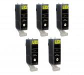 5 Druckerpatronen für Canon PGI-525BK mit Chip (black/schwarz) Preis 8,99