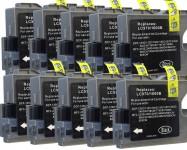 10 Patronen (Schwarz) ersetzen Brother LC-970/1000 Preis 8,70€ inkl. MwSt.