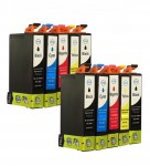 10 Druckerpatronen für Epson Stylus T0711-T0714 (C,M,Y,BK) Preis 8,90 €