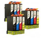 12 Patronen für Epson Stylus T1281-T1284 (C,M,Y,BK) Preis 10,50 €