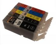 5 Druckerpatronen für Canon PGI-550/CLI-551 mit Chip