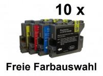 10 Patronen für Brother LC-970 / 1000 Preis 12,99 € inkl. MwSt.