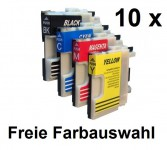 10Patronen für Brother LC-980/1100 Preis 14,99€ inkl. MwSt.